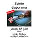 Séance du 12 Juin 2014 : Soirée Diaporama